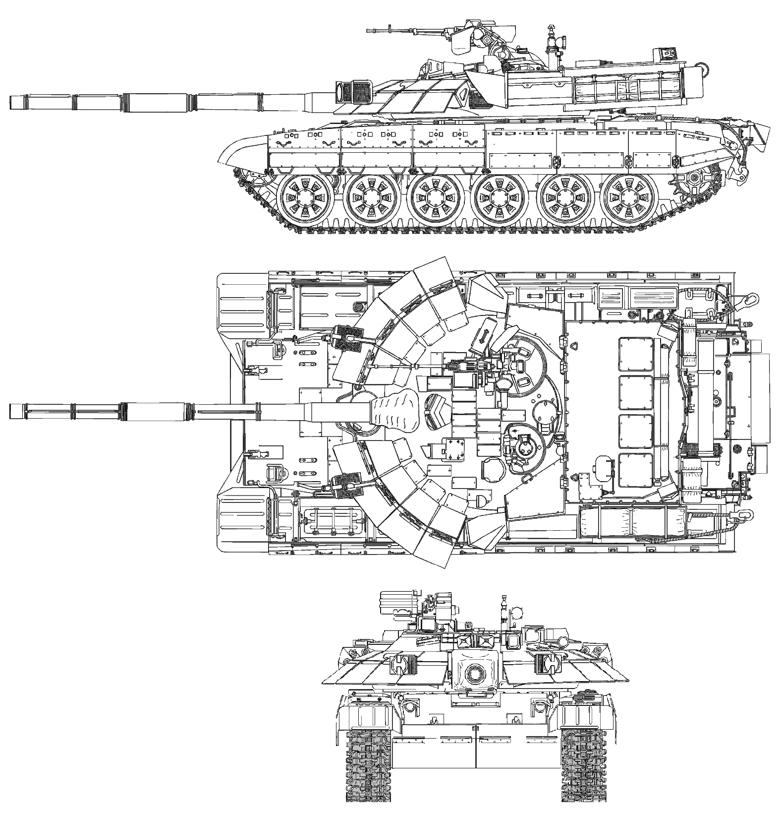 ...с несколькими странами соглашения на модернизацию в общей сложности более двухсот основных боевых танков Т-72.